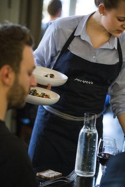 Aamanns restaurant