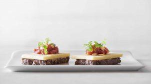 Bernstein Grube mini smørrebrød fra aamanns